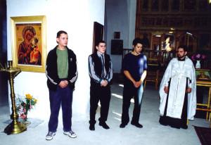 молебен 2001